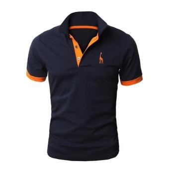 Thailand nasional olahraga kerah polo kemeja musim panas lengan pendek t shirt jersey Polo. Source · Pria Baik Polo Shirt Katun Jerapah Biru Laut
