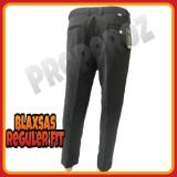 PROsperoz - Celana Panjang Kantor - Celana Kerja Pria - Celana Formal Bahan Kain Teflon - Tebal - Model Standard -  Hitam - Bukan Chino Jeans Levis Blaxsas (GC) - 2