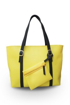 QuincyLabel Zoe Tote-Yellow