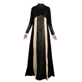 rok skirt pelangsing hitam. Source · Renda Muslim Abaya--Gaun Maksi (Hitam