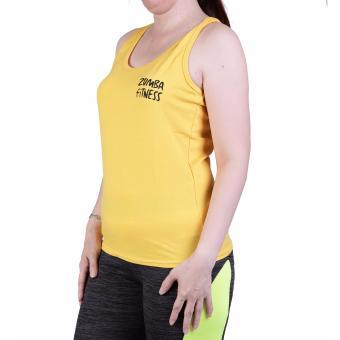 Baju Senam Zumba 289 - Kuning XL