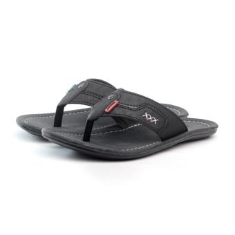 Salvo sandal kasual ZR-Hitam