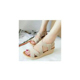 Sandal Karet Wanita Flat Shoes Sepatu Sendal Cewek - Daftar Harga ... ba9e16dac0