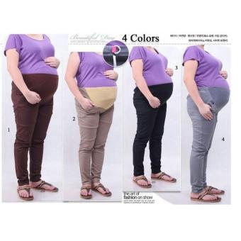 SB Collection Celana Hamil Panjang Rinda Pant Cream