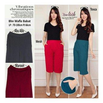 Sb Collection Celana Kulot Pendek Agata Short Pant Merah Models And Prices Indonesia April 2018