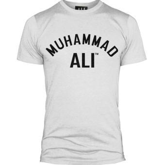Seller Online Tshirt Muhammad Ali - Putih