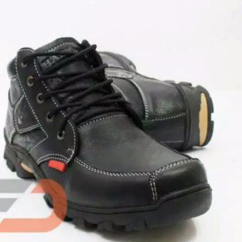 Sepatu boot casual sepatu kulit sepatu casual sepatu rouring