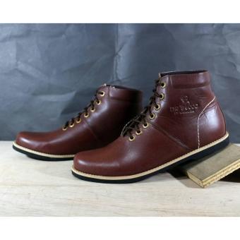 Fitur B A E Weah Sepatu Boots Safety Kulit Asli Wolf Original Sepatu ... 36b565439a