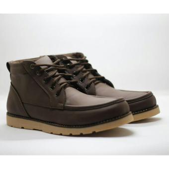 ... Sepatu Boots Pria Terbaru D ISLAND C082 Brown. Sepatu Boots Pria Terbaru D ISLAND C082 Brown. D Island Shoes Boots Harren High Top Quality Kulit Asli ...