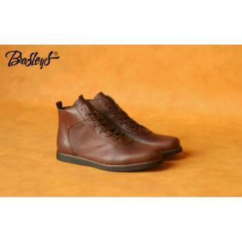 ... Zapato Source · Sepatu Sneakers Pria Semi Boots Cowok Casual Kulit Asli Boot Brodo Bradley Murah Bradley s Anubis