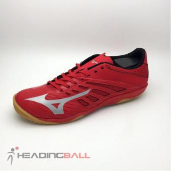 Sepatu Futsal Mizuno Original Basara 103 Sala IN True Red Q1GA183103 82d368bd21