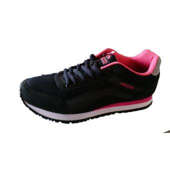 Sepatu Kasogi Janifer Black Merah Muda - Sepatu Joging - Sepatu Jogging  Wanita - Sepatu Wanita a17f2e31e5