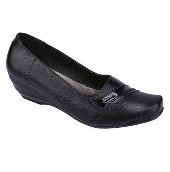 Sepatu Kerja Kantor Formal Pantofel Wanita Warna Hitam Catenzo US 036