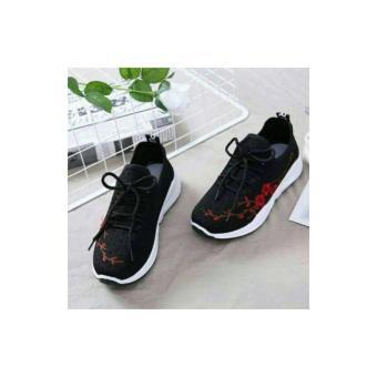 Sepatu Kets Wanita Casual Korea Motif Kucing Sds202 - Daftar Harga ... fc3d88185f