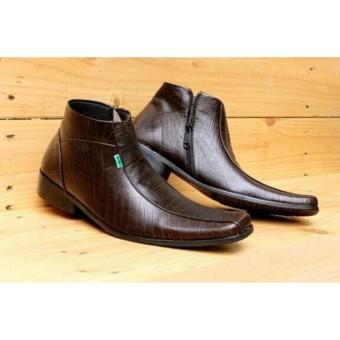 sepatu Kickers Pantofel Coklat PDH kulit pria sepatu formal kerja kantoran faee3a49c9