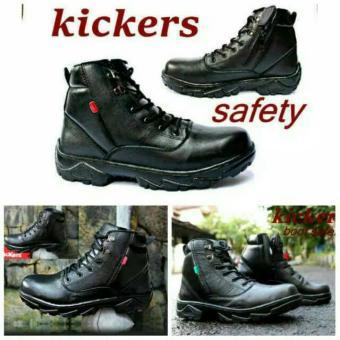 Cek Harga Baru Sepatu Kickers Bull Safety   Kickers Boots Kulit ... d14f7589b6