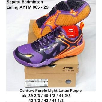 Sepatu Lining AYTM005-2S BADMINTON SHOES MURAH DISKON OBRAL SALE JUAL  PERLENGKAPAN BULUTANGKIS ADHA SPORT c0e64bcd70