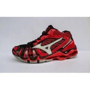 Cek Harga Baru Sepatu Volley Mizuno Original Thunder Blade Mid Black ... 7b4aebceed