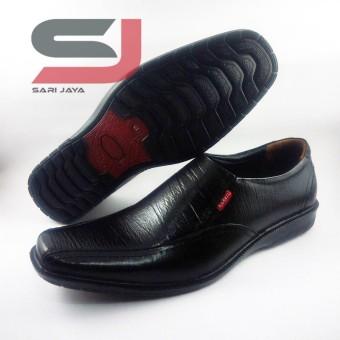 Sepatu pantofel pria bahan kulit asli fantofel formal pantopel dinas