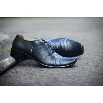 Sepatu Pantofel Pria Kerja Resmi Cevany Kulit Asli Pria Kantor Murah - Sepatu Branded