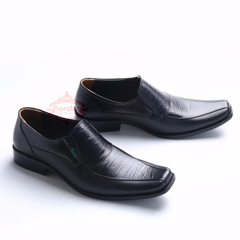 sepatu pria formal pantofel kulit asli high quality rajut 9014ht