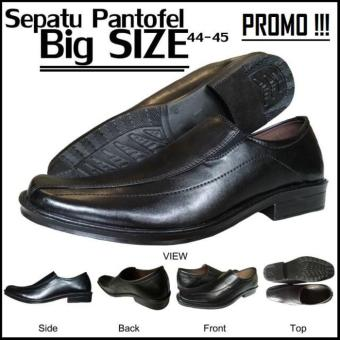 Sepatu Pantofel Pria Ukuran Besar / Black Pantopel Big Size 44 & 45 - 765E9D
