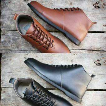 sepatu Pria original made brodo + sepatu boots + sepatu kulit + sepatu  pantofel + sepatu 1f345eb296