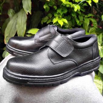 Sepatu safety KULIT SAPI ASLI 703 original