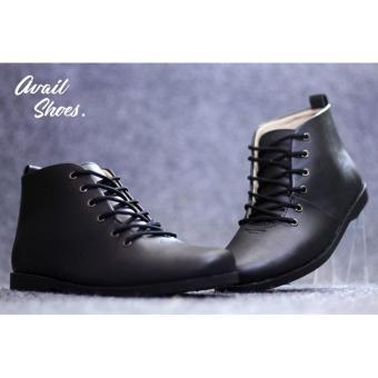 harga Sepatu slip On Pria AVAIL Casual Sneakers Hitam 1 Coklat Formal Pantofel - DR BECCO - Cevany - Kickers Lazada.co.id