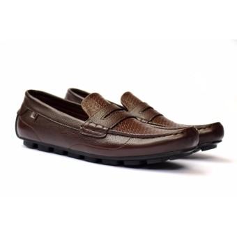 Sepatu Slip-On Pria Casual - Cocoes Footwear Original - Attore brown Series  - Sepatu a8694409ad