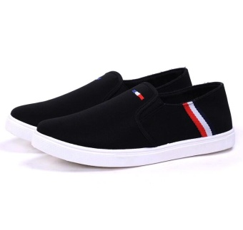 Sepatu Slip On Pria Size 44 - Black