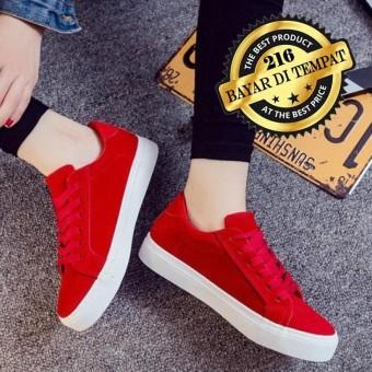Sepatu Sneakers Wanita Pria - Sepatu Kets Santai - Sepatu Sekolah Kuliah 77b11aee73