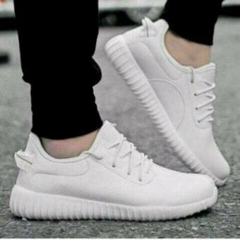 Sepatu Sport Wanita Putih solid YZ ID 16