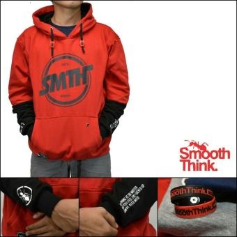 Sfo jaket sweater SMTH premium merah
