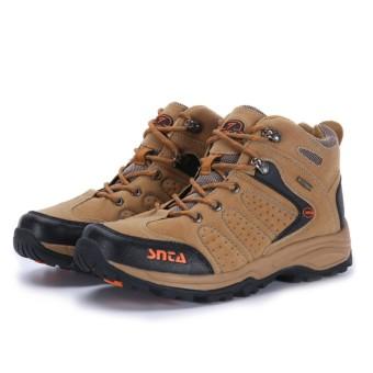 SNTA Sepatu Hiking / Gunung Outdoor 482 Cokelat Orange