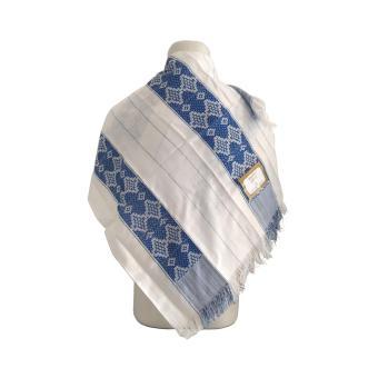 Sorban Arab Arafat Biru