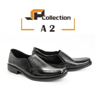 Original SPATOO Sepatu Pantofel Pria 100 % Kulit Asli A2 - Hitam   Sepatu  Kulit   c41d6c286c
