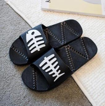 STS Non Slip Sandal untuk Keperluan Rumah Tangga-Pria (hitam)-Intl
