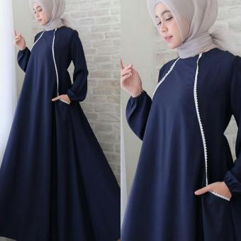 Suki Baju Gamis Muslim Rlen   Dress Muslimah   Hijab Muslim   Gamis Syari I 2abe0dc336