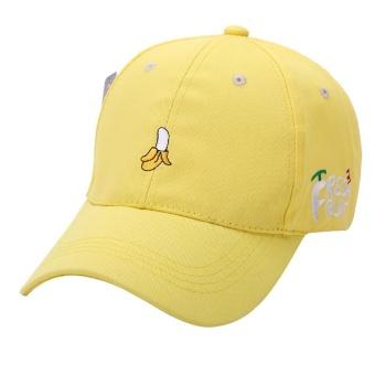 Panas Musim Wanita Buah Golf Bordir Topi Disesuaikan Topi Bisbol Ye-Intl 0c4ae872c7