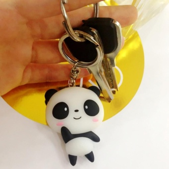 Sunshop Cute Panda Key Chain Ring Bag Pendant Car Keyring - intl