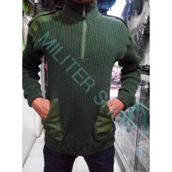 Sweater Army - Jaket Tactical Airsoft Militer