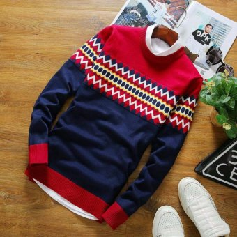 sweater rajut pria -Jeff tribal-rajut tribal