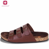 ... Swiss Hunter Falcon Sandal Brown - 3 ...