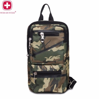Swiss Hunter - G Porce Sling Bag Tas Pria - Army