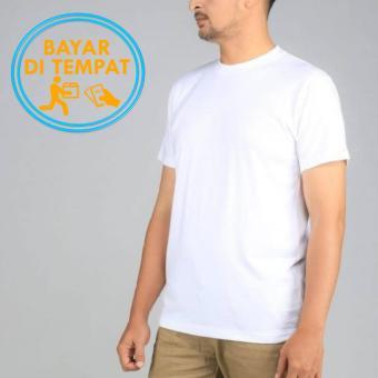 T-shirt / Kaos Polos Combed 30s 100% Cotton