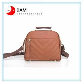 Tas Branded Wanita With Pompom -. High Quality PU Leather Korean Elegant Bag Style