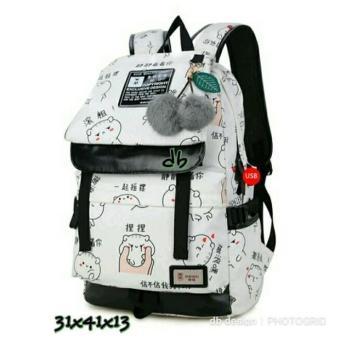 Tas Ransel Anak Sekolah Kuliah / tas punggung wanita / tas ransel wanita cewek murah /