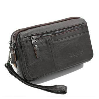 Tas tangan kulit Cheersoul 2249 [coklat] - hangbag pria - handbag wanita