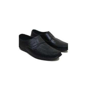 harga TERBARU Sepatu Karet Pria Formal - Pantofel Untuk Kerja Motif Croco 40-45 Lazada.co.id